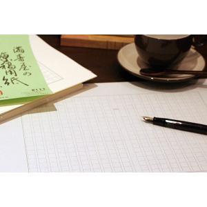 満寿屋(ますや)原稿用紙[クリーム紙]No.111No.113[B4判 400字詰 ルビ有](名入れ有)50冊 bunguya 05