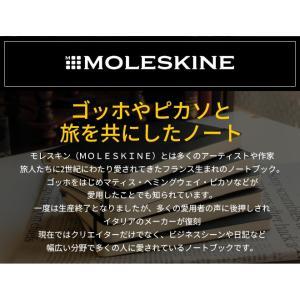 レーザー名入れ無料 モレスキン MOLESKINE ノートブック ミディアム ブラック bunguya 11