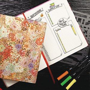 名入れ 無料 ペーパーブランクス paperblanks ドット方眼プランナー DOT GRID PLANNERS ページ番号付き ノートブック|bunguya|11
