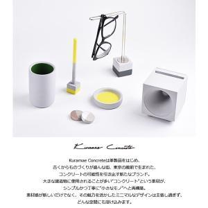 デスクペン ボールペン 蔵前コンクリート Kuramae Concrete 専用ホルダー付きペン Pen bunguya 04