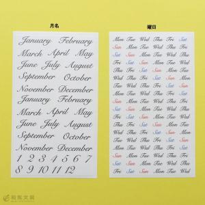 バレットジャーナル  シール  ノート  マイジャーナル スターターキット カリグラフィー A5サイズ|bunguya|08