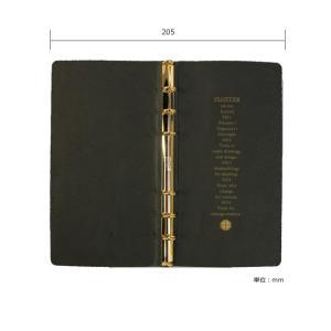 システム手帳 名入れ 無料 プロッター プエブロ ナローサイズ 11mm径 (カバーのみ) bunguya 12