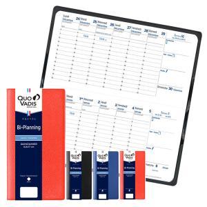 手帳 2020年 クオバディス QUOVADIS 見開き2週間 バーチカル(時間軸タテ)17×8.8cm バイプランニング アンパラ|bunguya