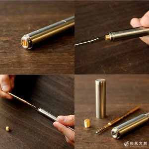 限定  ボールペン ショーン・デザイン Schon DSGN チタニウム Titanium ボールペン ショーンデザイン|bunguya|07