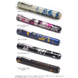 ボールペン ショーン・デザイン #02 マルチカラー アルミニウム クリップペン ショーンデザイン|bunguya|02