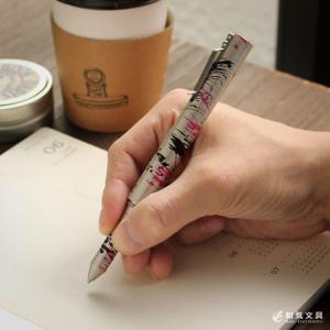 ボールペン ショーン・デザイン #02 マルチカラー アルミニウム クリップペン ショーンデザイン|bunguya|08