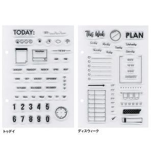手作り手帳  バレットジャーナル  こどものかお KODOMO NO KAO クリアスタンプシート 7枚セット bunguya 11