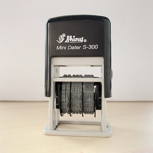 シャイニー Shiny Mini Dater(日付スタンプ)|bunguya