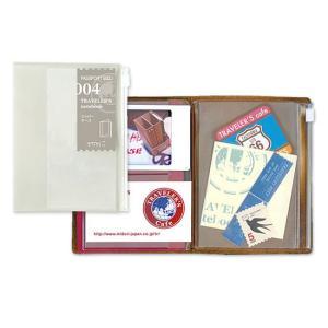 トラベラーズノート パスポートサイズリフィル ジッパーケース