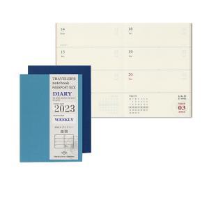手帳 2020年 トラベラーズノート TRAVELER'S Notebook パスポートサイズ 週間ダイアリー リフィル(レフィル) bunguya