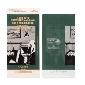 2020年 限定品 トラベラーズノート TRAVELER'S Notebook クリアホルダー|bunguya