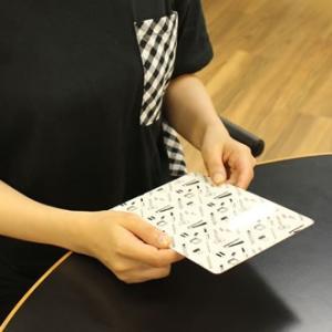 文房具 和気文具オリジナル モレスキン ポケット用 下敷き 文房具柄 あすつく対応|bunguya|09