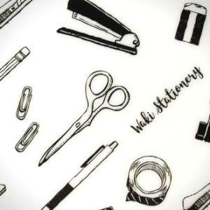 文房具 和気文具オリジナル モレスキン ポケット用 下敷き 文房具柄 あすつく対応|bunguya|10