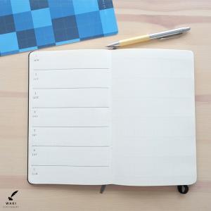 文房具 和気文具オリジナル モレスキン ラージ用 下敷き チェック柄|bunguya|13