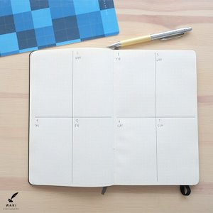 文房具 和気文具オリジナル モレスキン ラージ用 下敷き チェック柄|bunguya|15