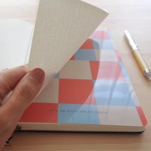 文房具 和気文具オリジナル モレスキン ラージ用 下敷き チェック柄|bunguya|05