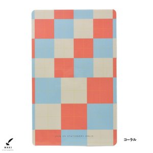 文房具 和気文具オリジナル モレスキン ラージ用 下敷き チェック柄|bunguya|09