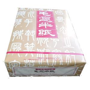 書道 紙 毛辺半紙(甲級M401)1000枚|bunrindo-1