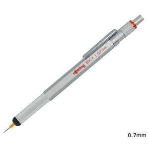 ロットリング 1900184 800+ メカニカルペンシル+スタイラス 0.7mm シルバー|bunsute