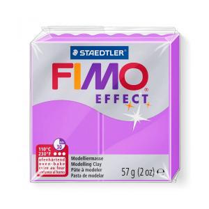 ステッドラー 8010-601 CLAY FIMO オーブンクレイ フィモ エフェクト <ネオンパープル>|bunsute