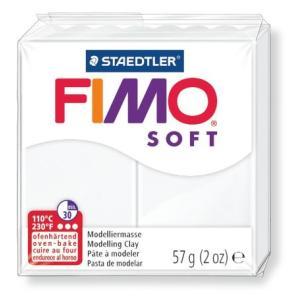 ステッドラー 8020-0 CLAY FIMO オーブンクレイ フィモ ソフト <ホワイト>|bunsute