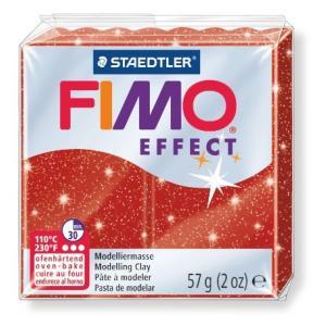 オーブン粘土 FIMO フィモ エフェクト(56g) メタリックレッド 8020-202の商品画像|ナビ