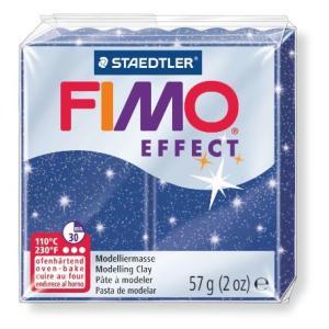 オーブン粘土 FIMO フィモ エフェクト(56g) メタリックブルー 8020-302の商品画像|ナビ