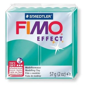 オーブン粘土 FIMO フィモ エフェクト(56g) 半透明グリーン 8020-504の商品画像|ナビ