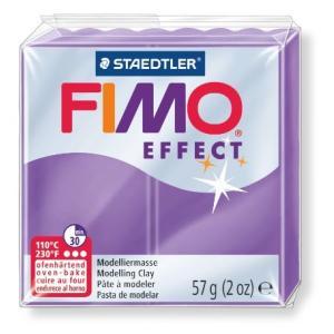 オーブン粘土 FIMO フィモ エフェクト(56g) 半透明パープル 8020-604の商品画像|ナビ