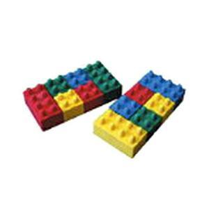 スリップオン ABE-1001^2 ブロック消しゴム (2個セット)|bunsute