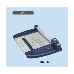在庫有り・送料無料♪(沖縄・離島を除く) コクヨ DN-T63 ペーパーカッター A4 ロータリー式 40枚切り チタン加工刃|bunsute