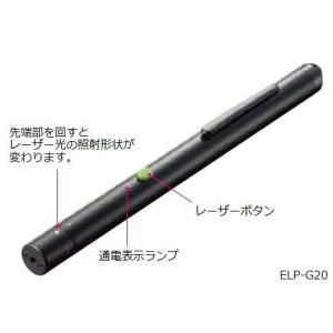 【送料無料♪(沖縄・離島を除く)】コクヨ ELP-G20 レーザーポインター<GREEN>(ペンタイプ・形状変更)|bunsute