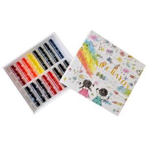 コクヨ KE-AC28 Arts&Craftsシリーズ 透明くれよん 16色|bunsute