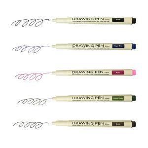 コクヨ KE-SP7 ドローイングペン<Drawing Pen> 0.5mm 水性顔料|bunsute
