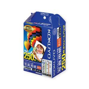 コクヨ KJ-D12L-250 IJP用写真用紙 印画紙原紙 高光沢 L 250枚