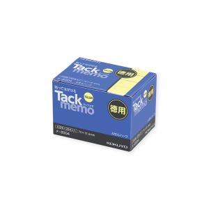 コクヨ メ-2004N タックメモ徳用 74×12.5mm付箋 100枚×20本 黄 bunsute