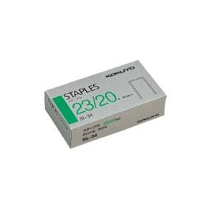 コクヨ SL-34 ステープル針 23/20号針 600本入り|bunsute