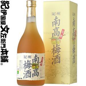 紀州南高梅酒  720ml 化粧箱入 『芳醇』 完熟梅使用・ウメタ(和歌山県産)|bunza
