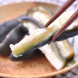夏の味覚 泉州産 水なす(ぬか漬)1個入  冷蔵便 (高級食材 最高級)水ナス糠漬け|bunza|02