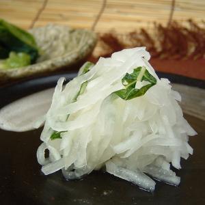大根のもみ漬 150g  紀州の四季菜|bunza