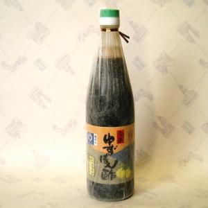ゆずポン酢 720ml (紀州和歌山産)  丸新91872|bunza