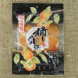 【2017年新物入荷】やわらか柿チップス(80g) 平種無柿を乾燥させただけ!無添加の自然な甘みを濃縮させたお菓子 かきチップ (紀州味紀行 柿和歌)|bunza