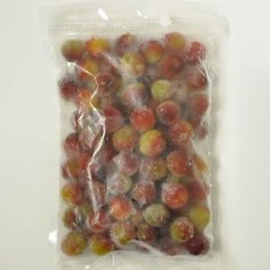 冷凍小梅(青梅・生梅) 品種=パープルクイーン500g(紀州和歌山産)梅酒、梅シロップ専用・クール冷凍便発送|bunza
