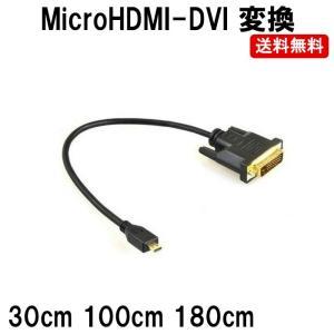 MicroHDMI マイクロ HDMI DVI 変換 コンバーター アダプター