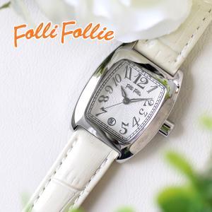 フォリフォリ 腕時計 レディース FOLLI FOLLIE S922 SV IV 人気 ブランド かわいい おしゃれ 女性 ギフト クリスマス プレゼント