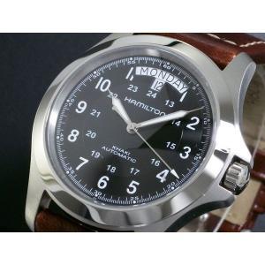 uk availability bdc0f 621b5 ハミルトン 腕時計 メンズ HAMILTON 時計 カーキキング 自動巻き 人気 ブランド H64455533 高級腕時計 オススメ ランキング 男性  プレゼント ギフト