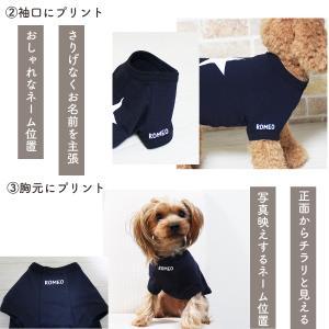スター Tシャツ 愛犬のお名前が入ります リンクコーデ|buruhaus|11