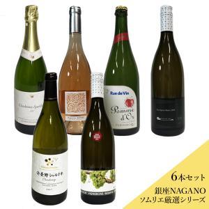 ラグジュアリー 泡・白 夏ワイン 6本セット(沖縄別途590円)信州産 白ワイン 20歳未満の飲酒・販売は法律で禁止されています|busan-nagano