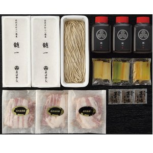 長野 こばやし 手打二八蕎麦 黒豚せいろそば 一人前折詰 390g|送料込|busan-nagano