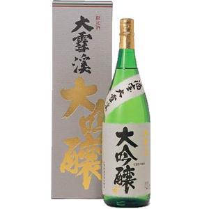 大雪渓 大吟醸美山錦1.8L |送料込|busan-nagano
